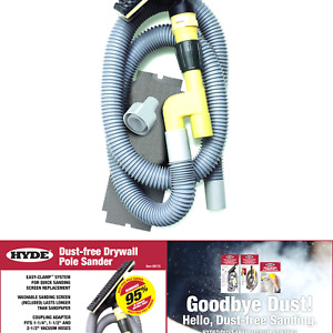 Hyde 09170 Dust free Drywall Vacuum Sander Without Pole