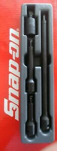 New Snap On Tools 1 2 Drive 4 Piece Impact Extension U joint Set Imx304 New