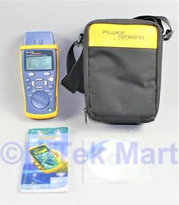Fluke Networks Ciq 100 Network Cable Tester Cableiq With Fluke Soft Case