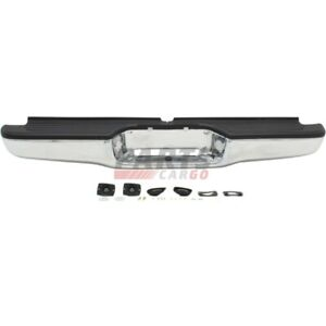 New Step Bumper Assembly Chrome Rear Fits 95 04 Toyota Tacoma 002283598113