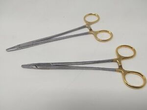 Sklar Surgical Ryder Needle Holders Straight Serrated set Of 2