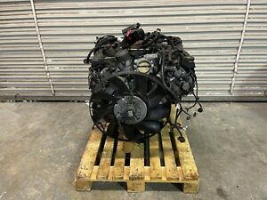 10 13 Range Rover Hse Engine Motor Assembly W fan And Harness 5 0l 81k Miles