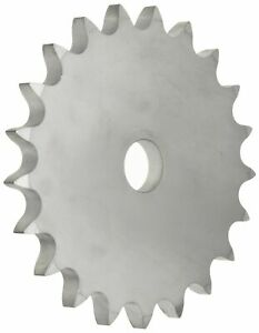 Martin Roller Chain Sprocket Stainless Steel Reboreable Type A Hub Single