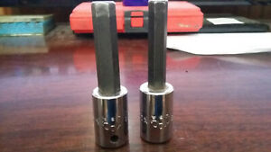 Mac Tool 3 8 Drive 5 16 And 3 8 Allen Hex Bits Usa Made