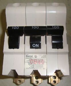 Fp Federal Pioneer 100 Amp 3 Pole Circuit Breaker