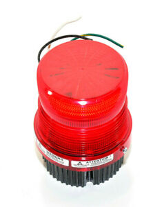 For Parts Federal Signal Fireball Ii Fb2pst 120vac 0 25a 50 60hz Red Strobe