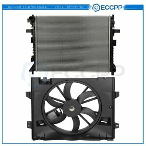 Radiator Cooling Fan Kit For 2006 2011 Ford Crown Victoria Lincoln Town Car