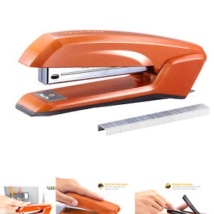 Bostitch Ascend 3 In 1 Stapler With Integrated Remover Staple Storage Orange
