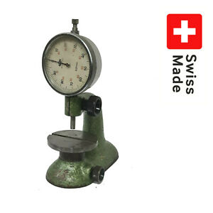 Watchmakers Bench Indicator Comparator Stand Precision Height pag Grenchen 2