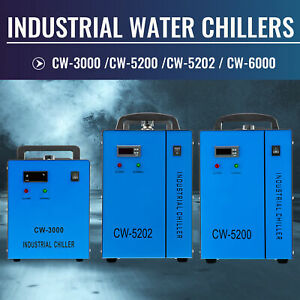 Omtech Cw5202 Cw5200 Cw3000 Water Chiller For Co2 Laser Tube Laser Engraver