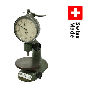 Watchmakers Bench Indicator Comparator Stand Precision Height pag Grenchen 5