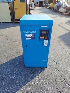 Used 10 Hp Hydrovane Rotary Compressor With Computer And Quiet Housing