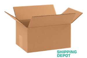 50 10x7x5 Cardboard Paper Box Mailing Packing Shipping Boxes Corrugated Carton