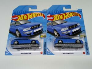 2 New Model Release 2021 Hot Wheels 94 Audi Avant Rs2 From Factory Fresh