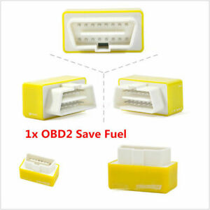 New Obd2 Performance Tuning Chip Box For Saver Gas Vehicles Plug Drive