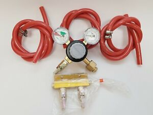 Taprite Co2 Carbon Dioxide Dual Gauge Regulator Series 740 With Extras