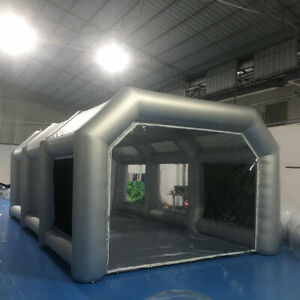 Large Size Inflatable Spray Booth Portable Paint Tent Painting House With Window