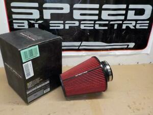 Spectre Hpr9612 Clamp On Cold Air Intake Air Filter 4 Flange X 10 25 Tall