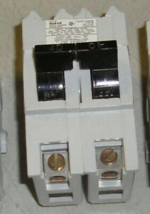 Federal Pioneer Bolt On Circuit Breaker 40 Amp 2 Pole Circuit Breaker Nb