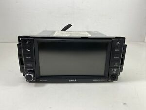 07 14 Chrysler 200 Avenger Caliber Mp3 Jpeg Aux Dvd Radio Display 05091307ad