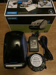 Dymo Labelwriter 450 Turbo Label Thermal Printer Black Labels Included