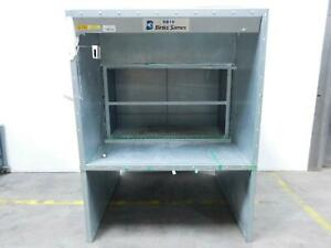 Binks Sames Large Industrial Paint Booth T139357