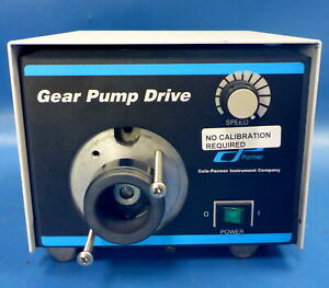 Cole Parmer 75211 10 Variable Speed Gear Pump Drive