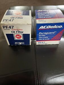 Ac Delco Oil Filter Pf47 New Duraguard Genuine Gm Parts 25010792