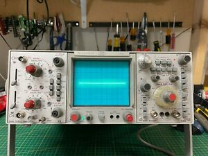 Telequipment D75 Dual Channel Oscilloscope 50 Mhz 2 Channel Analog