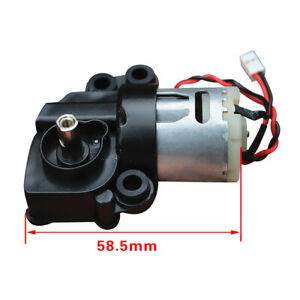 Micro Electric Gear Motor 7 shaped Dc6v 12v Low Speed Reducer Worm Gearox Geared