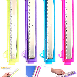 Bostitch Ring Binder 3 Hole Punch 5 Sheets Assorted Colors rbhp 4c
