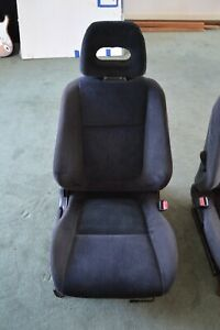 1994 Acura Integra Rs Front Cloth Seat Dc2 passenger Side