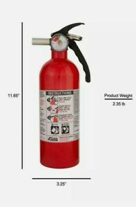 5 b c Kidde Dry Chemical Fire Extinguisher Home Car Auto Garage Kitchen Safety