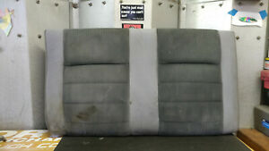 87 89 Ford Mustang Convertible Tweed Rear Seat Upper Back Fox Body Lx Gt