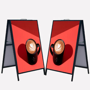 Heavy duty A frame Folding Sign Holder 23 X 35 Double sided Display