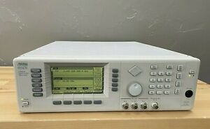 Anritsu 69347b Low Phase Noise Performance Signal Generator Opt 1 6 9k 11 Cal d
