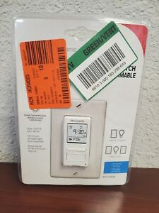 Honeywell Rpls540 120v 7 day Programmable Indoor Light Switch Timer With Automat