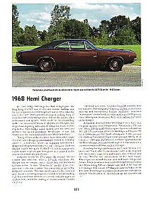 1968 Dodge Charger 426 Hemi Article Must See
