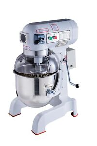 20l 1 0 Hp Nsf Commercial Dough Food Mixer 3 Speed For Pizza Bakery Restaurant