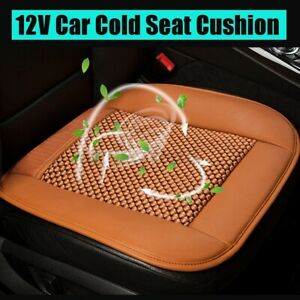 12v Cooling Car Seat Cushion Ventilate Breathable Air Flow Holes Universa