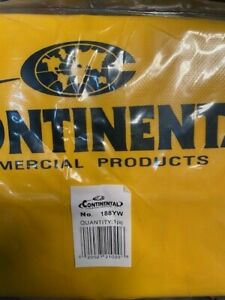 Continental Zippered Vinyl Bag For Janitorial Carts 188yw new