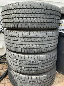 Used 265 60 20 Goodyear Wrangler Sr a Tires Set Of 4