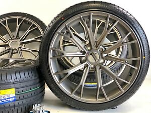 Wheels Rims And Tires Fit Bmw M5 Brass Gray M6 5x120 Grass Gray New M5 20 Inch