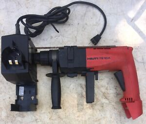 Hilti Te10a Cordless Rotary Hammer Drill w Case Charger No Battery