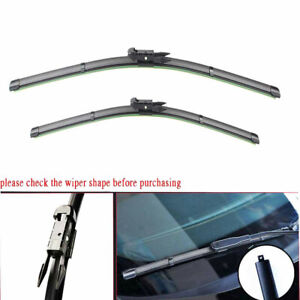 Front Windshield Wiper Blades For 12 2017 Chevrolet Traverse Set Of 2 2421
