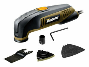 Rockwell Ss5122 2 3a 20 000 Opm Corded Oscillating Multi tool Kit 10 L Ft Cord