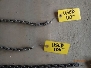 3 4 Ton Coffing Steel Ratchet Lever Hoist 110 Replacement Chain
