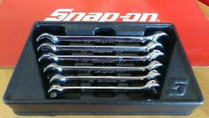 Snap On Tools 6 Piece Metric Double Flare Nut Wrench Set Rxfms606b