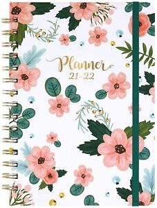 2021 2022 Weekly Monthly Planner With Tabs Flexible Strong Binding Thick Paper