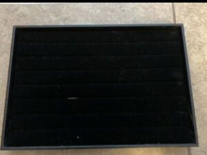 New Black Ring Tray Measurements 14 x9